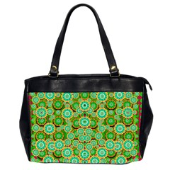 Flowers In Mind In Happy Soft Summer Time Office Handbags (2 Sides)