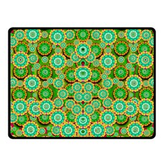 Flowers In Mind In Happy Soft Summer Time Fleece Blanket (Small)