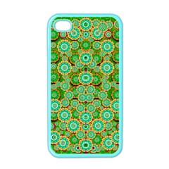 Flowers In Mind In Happy Soft Summer Time Apple iPhone 4 Case (Color)