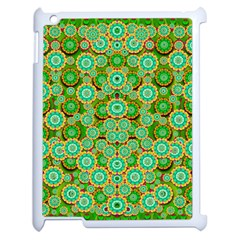 Flowers In Mind In Happy Soft Summer Time Apple Ipad 2 Case (white)