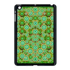 Flowers In Mind In Happy Soft Summer Time Apple iPad Mini Case (Black)