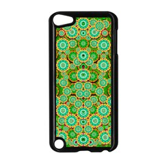 Flowers In Mind In Happy Soft Summer Time Apple iPod Touch 5 Case (Black)