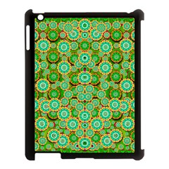Flowers In Mind In Happy Soft Summer Time Apple Ipad 3/4 Case (black)
