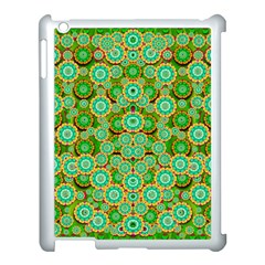 Flowers In Mind In Happy Soft Summer Time Apple iPad 3/4 Case (White)