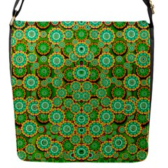 Flowers In Mind In Happy Soft Summer Time Flap Messenger Bag (S)