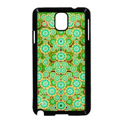Flowers In Mind In Happy Soft Summer Time Samsung Galaxy Note 3 Neo Hardshell Case (Black)