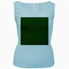 Awesome Allover Stars 01d Women s Baby Blue Tank Top