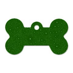 Awesome Allover Stars 01d Dog Tag Bone (One Side)