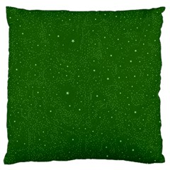 Awesome Allover Stars 01d Large Flano Cushion Case (Two Sides)