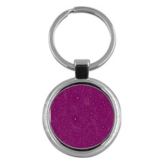 Awesome Allover Stars 01e Key Chains (Round)