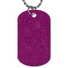 Awesome Allover Stars 01e Dog Tag (Two Sides)