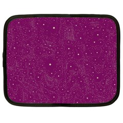 Awesome Allover Stars 01e Netbook Case (XXL)