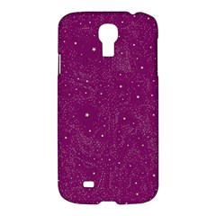 Awesome Allover Stars 01e Samsung Galaxy S4 I9500/I9505 Hardshell Case