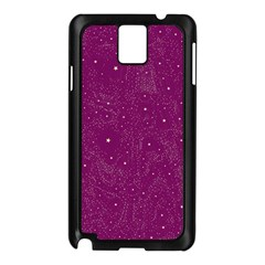 Awesome Allover Stars 01e Samsung Galaxy Note 3 N9005 Case (Black)
