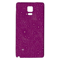 Awesome Allover Stars 01e Galaxy Note 4 Back Case