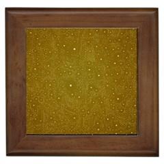 Awesome Allover Stars 01c Framed Tiles