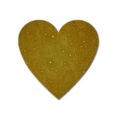 Awesome Allover Stars 01c Heart Magnet