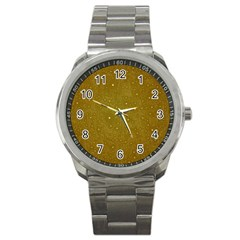 Awesome Allover Stars 01c Sport Metal Watch