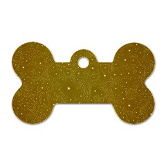 Awesome Allover Stars 01c Dog Tag Bone (Two Sides)