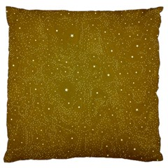 Awesome Allover Stars 01c Large Cushion Case (Two Sides)