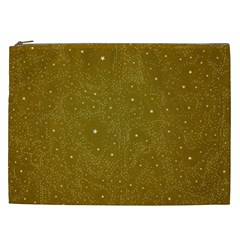 Awesome Allover Stars 01c Cosmetic Bag (XXL)