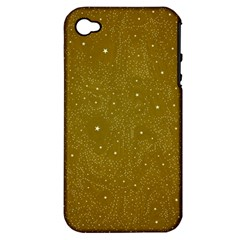 Awesome Allover Stars 01c Apple iPhone 4/4S Hardshell Case (PC+Silicone)