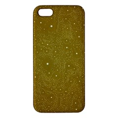 Awesome Allover Stars 01c Apple iPhone 5 Premium Hardshell Case