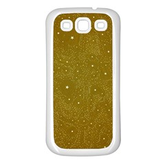 Awesome Allover Stars 01c Samsung Galaxy S3 Back Case (White)