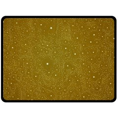 Awesome Allover Stars 01c Double Sided Fleece Blanket (Large)