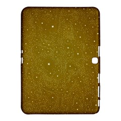 Awesome Allover Stars 01c Samsung Galaxy Tab 4 (10.1 ) Hardshell Case