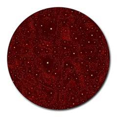 Awesome Allover Stars 01a Round Mousepads