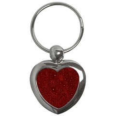 Awesome Allover Stars 01a Key Chains (Heart)