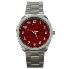Awesome Allover Stars 01a Sport Metal Watch