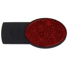 Awesome Allover Stars 01a USB Flash Drive Oval (4 GB)