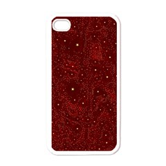 Awesome Allover Stars 01a Apple iPhone 4 Case (White)