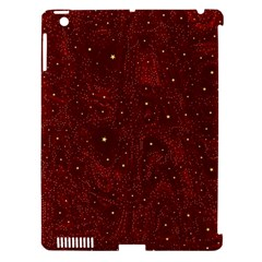 Awesome Allover Stars 01a Apple iPad 3/4 Hardshell Case (Compatible with Smart Cover)