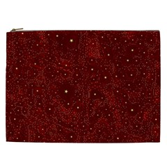 Awesome Allover Stars 01a Cosmetic Bag (XXL)