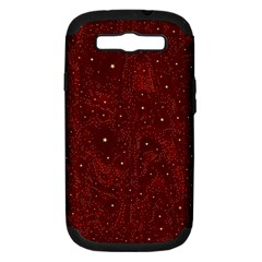Awesome Allover Stars 01a Samsung Galaxy S III Hardshell Case (PC+Silicone)
