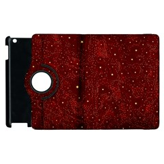 Awesome Allover Stars 01a Apple iPad 3/4 Flip 360 Case