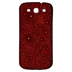 Awesome Allover Stars 01a Samsung Galaxy S3 S III Classic Hardshell Back Case