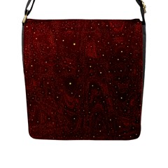 Awesome Allover Stars 01a Flap Messenger Bag (L)