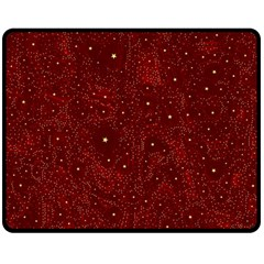 Awesome Allover Stars 01a Double Sided Fleece Blanket (Medium)