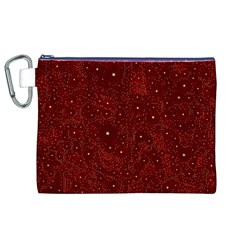 Awesome Allover Stars 01a Canvas Cosmetic Bag (XL)