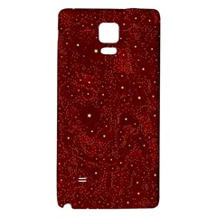 Awesome Allover Stars 01a Galaxy Note 4 Back Case