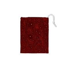 Awesome Allover Stars 01a Drawstring Pouches (XS)