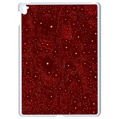 Awesome Allover Stars 01a Apple Ipad Pro 9 7   White Seamless Case