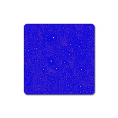 Awesome Allover Stars 01f Square Magnet