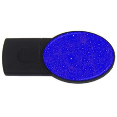 Awesome Allover Stars 01f USB Flash Drive Oval (1 GB)