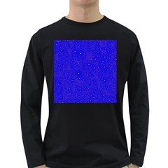 Awesome Allover Stars 01f Long Sleeve Dark T-Shirts