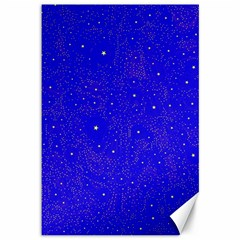 Awesome Allover Stars 01f Canvas 12  x 18